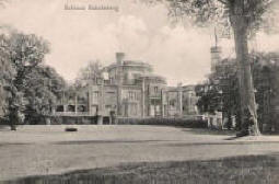 Alte Postkarte vom Schloss Babelsberg