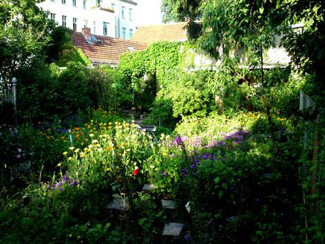 Sommer in Potsdam Pension Mittenentzwei