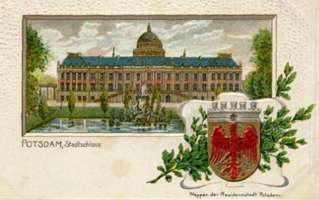 Potsdam Stadtschloss Hotel Ferienwohnung Pension Jugendherberge