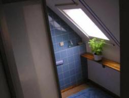 einfachstes Bad in Ferienwohnung Potsdam Pension Hotel