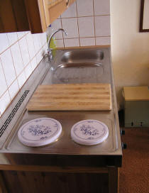 Küchenausstattung bei Familie Mittenentzwei Potsdam