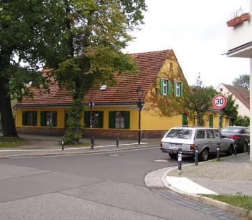 Grenzstraße Karl Liebknecht Straße Potsdam Eckhaus Ferienwohnung