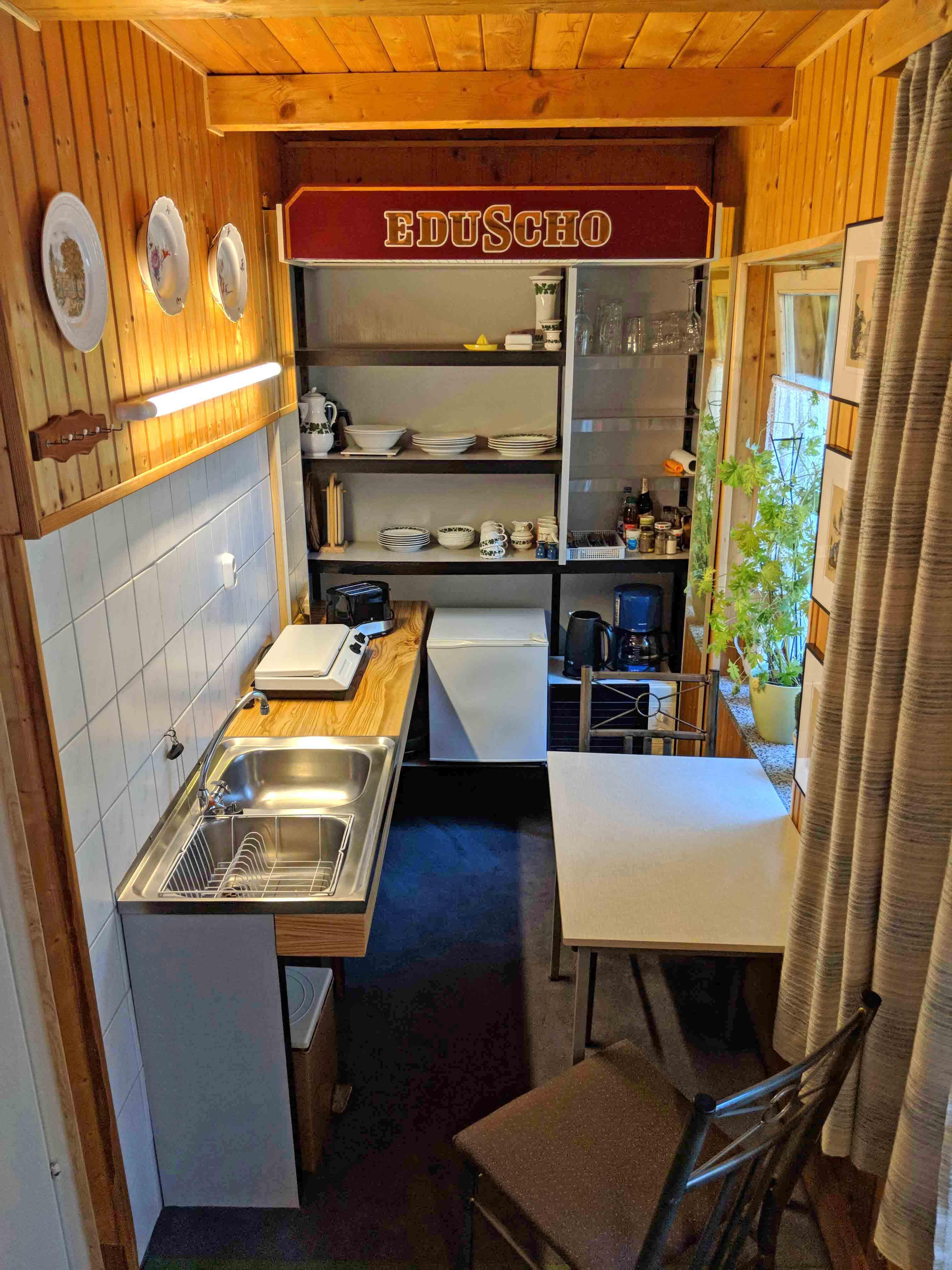 Küchenblick: einfach und klein, aber fein!