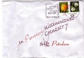 preiswerte Potsdam Pension B&B Ferienwohnung Hostel Mittenentzwei
